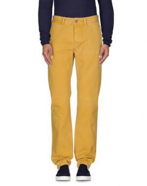 Джинсовые брюки JECKERSON. Цвет: охра
