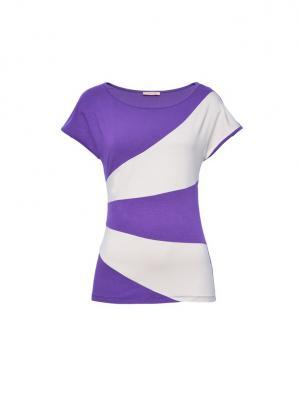 Блуза Endea. Цвет: темно-фиолетовый