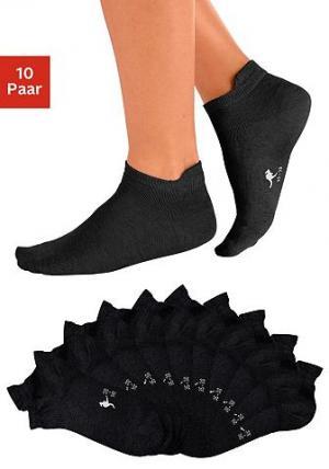 Носки, 10 пар KANGAROOS®. Цвет: 10х черный