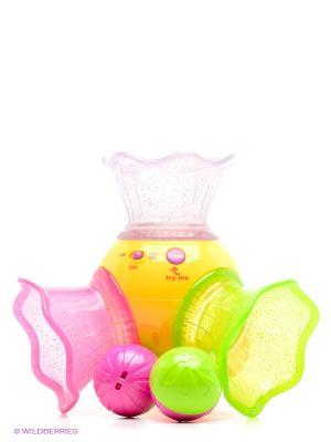Музыкальная труба с шарами BKIDS. Цвет: салатовый, фиолетовый, оранжевый, розовый, желтый