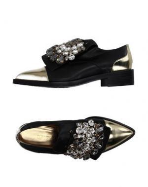 Обувь на шнурках GEDEBE. Цвет: черный