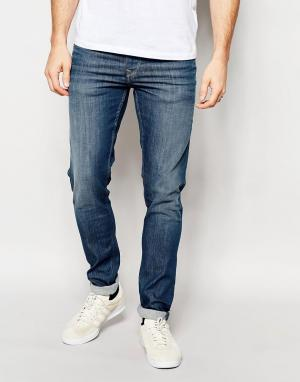 Pepe Heritage Синие суперстретчевые джинсы Jeans Powerflex Finsbury. Цвет: синий