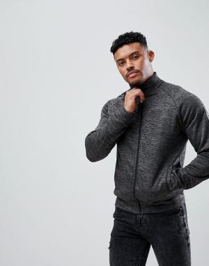 Good For Nothing Серая спортивная куртка. Цвет: серый