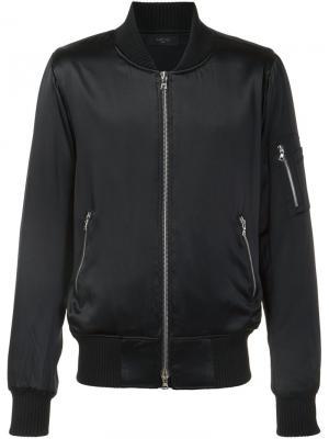 Куртка-бомбер с рукавами на молниях Amiri. Цвет: чёрный