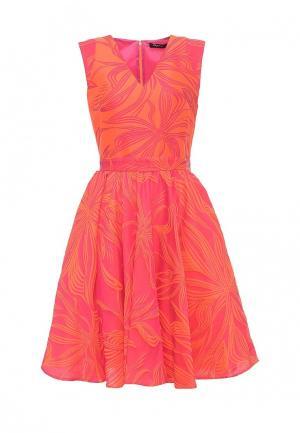 Платье Byblos. Цвет: оранжевый