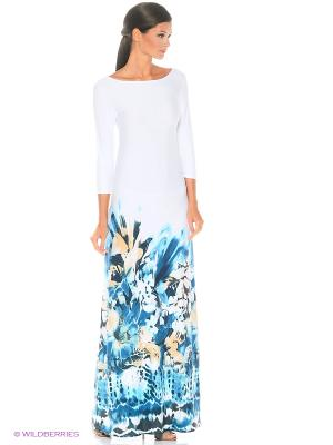 Длинное платье Морская пена ANASTASIA PETROVA