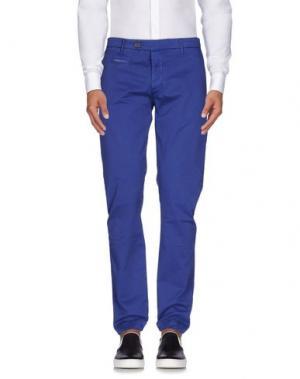 Повседневные брюки NOVEMB3R. Цвет: синий