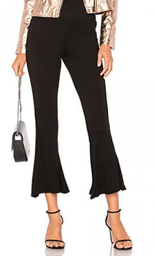 Расклешенные укороченные брюки harland Michael Lauren. Цвет: черный