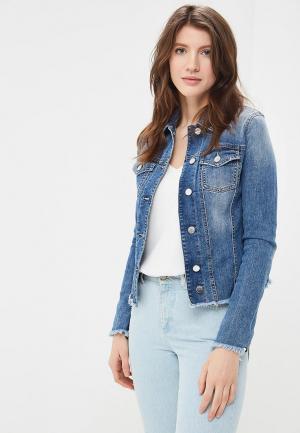 Куртка джинсовая Met. Цвет: синий