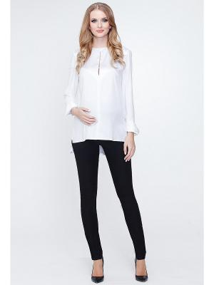 Блуза TUTTA MAMA. Цвет: белый