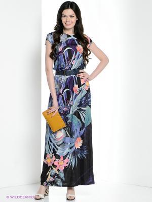 Платье Vaide. Цвет: темно-синий, синий