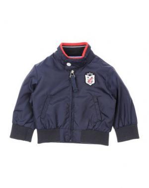 Куртка U+É. Цвет: темно-синий