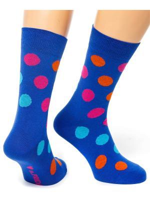 Дизайнерские Носки St.Friday Socks. Цвет: синий