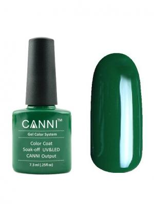 Гель лак №134 CANNI. Цвет: зеленый