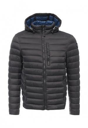 Куртка утепленная Puffa. Цвет: серый