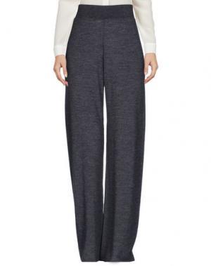 Повседневные брюки SIYU. Цвет: свинцово-серый