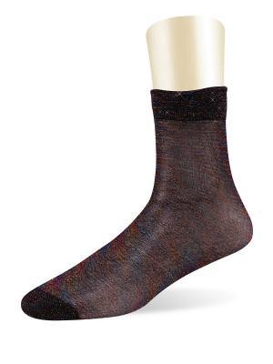 Носки, 5 пар Glamuriki. Цвет: фиолетовый