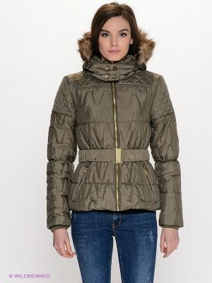 Куртка OUTFITTERS NATION. Цвет: зеленый