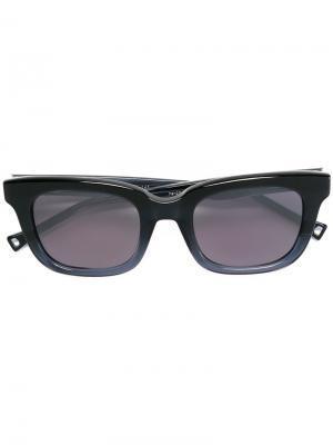Солнцезащитные очки с затемненными линзами Oamc. Цвет: синий
