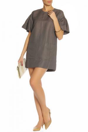 Платье ZHOR&NEMA. Цвет: серый