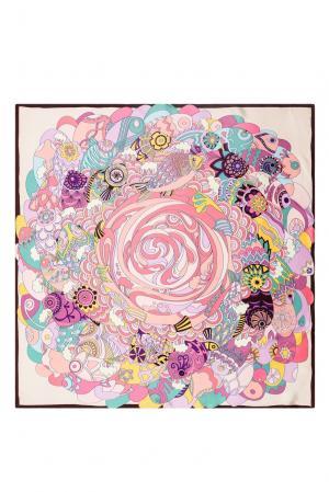 Шелковый платок 183357 Moltini. Цвет: разноцветный