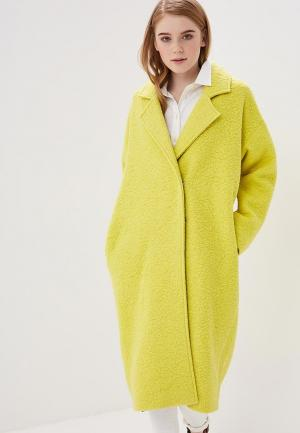 Пальто Magwear. Цвет: желтый