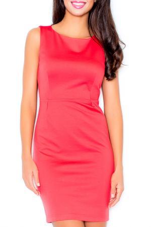 Платье Figl. Цвет: coral