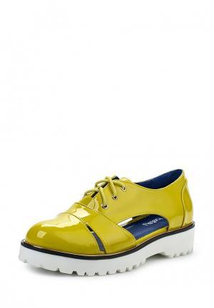 Ботинки Betsy. Цвет: зеленый
