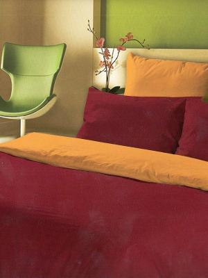 Комплект постельного белья La Pastel. Цвет: красный, оранжевый