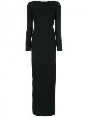 Платье с завязкой сзади Chalayan. Цвет: чёрный