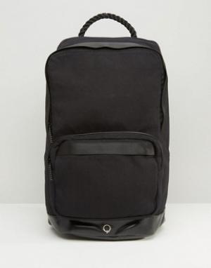 Stighlorgan Рюкзак из хлопковой парусины Cillian. Цвет: черный