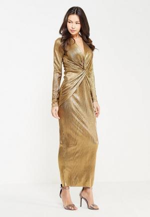 Платье TrendyAngel. Цвет: золотой