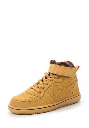 Кеды Nike. Цвет: желтый