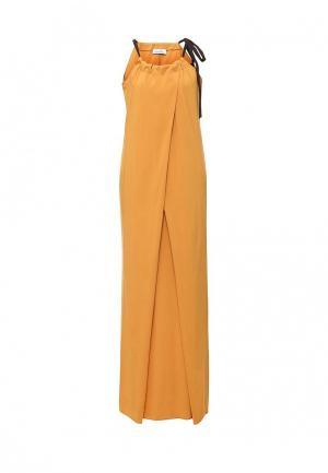 Платье Proud Mom. Цвет: желтый