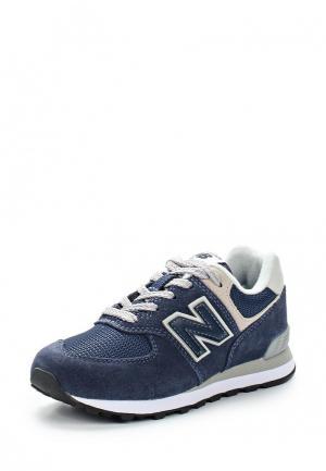 Кроссовки New Balance. Цвет: синий