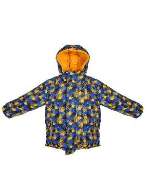 Куртка Bell bimbo. Цвет: горчичный