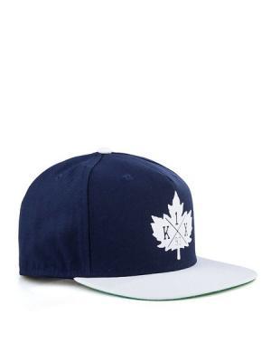 Бейсболка K1X. Цвет: синий, белый