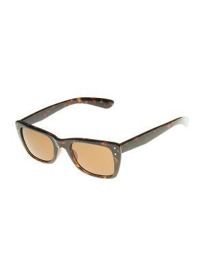 Солнцезащитные очки Happy Charms Family. Цвет: коричневый