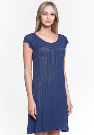 Платье Jacote. Цвет: синий
