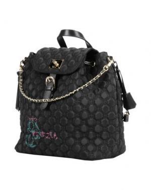 Рюкзаки и сумки на пояс V° 73. Цвет: черный