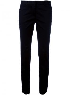 Классические укороченные брюки Alberto Biani. Цвет: чёрный