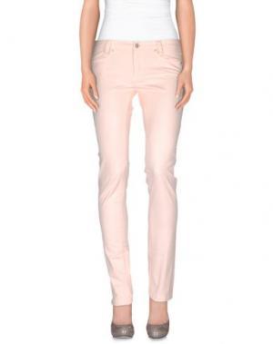 Повседневные брюки BETWOIN. Цвет: розовый