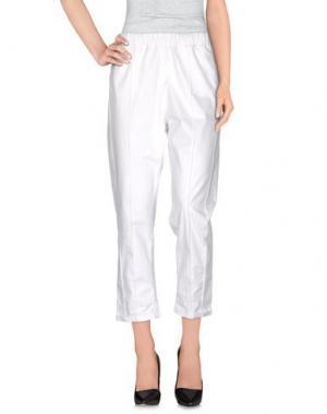 Повседневные брюки ATELIER ARCHIVIO. Цвет: белый