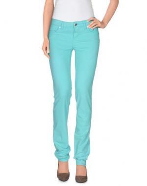 Повседневные брюки SIVIGLIA. Цвет: бирюзовый