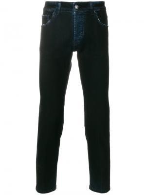 Классические джинсы Entre Amis. Цвет: синий