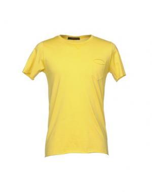 Футболка JEORDIE'S. Цвет: желтый