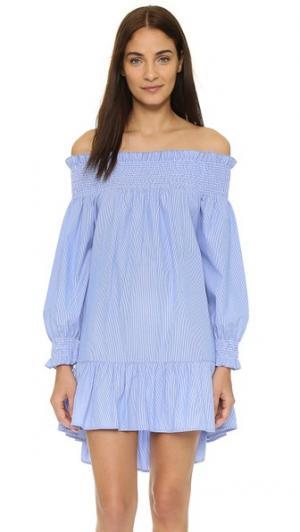 Пляжное платье J Love Thayer. Цвет: тонкая полоска