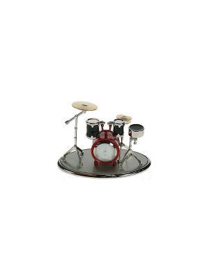 Часы настольные Музыкальная группа Русские подарки. Цвет: белый, кремовый