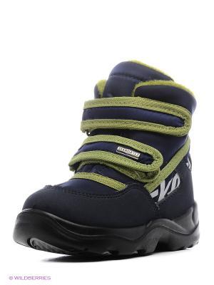 Ботинки Skandia. Цвет: синий