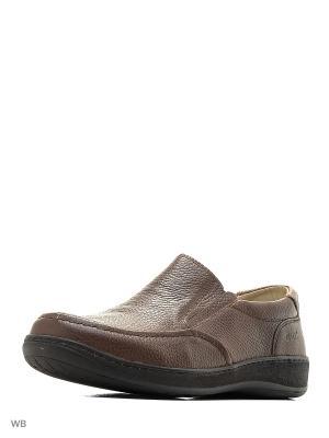 Ботинки GUT. Цвет: коричневый